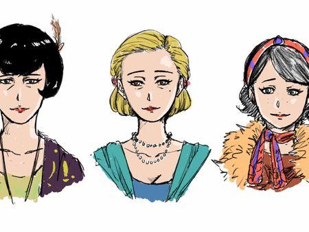 Irene Boullion - Peaky Blinders Character Design