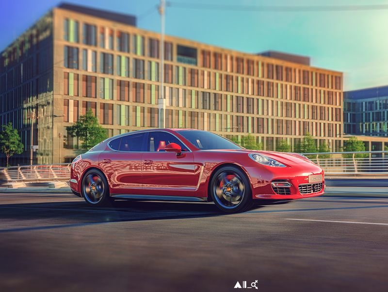 Porsche 911 Panamera
