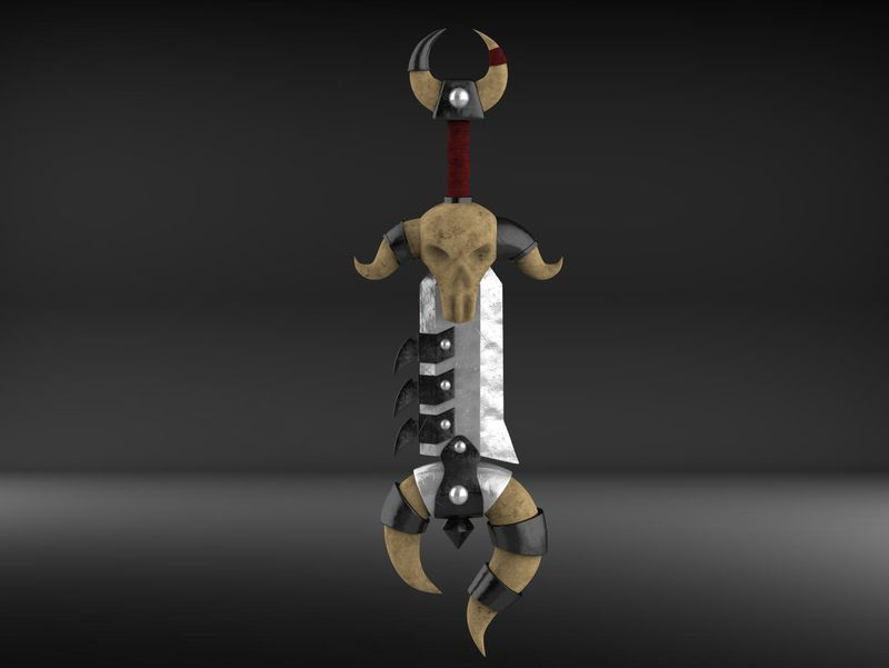 #WeeklyDrills 015 Fantasy game sword