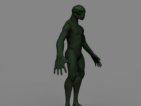 Weekly Drill 037 -  Reptilian humanoid