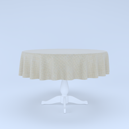 Extendable table - INGATORP 3D model