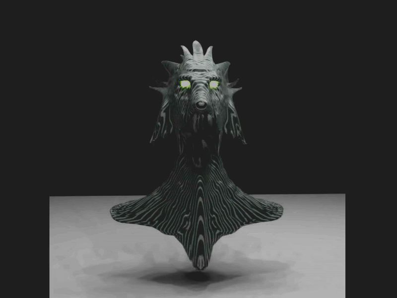 Spinning Test For My Creature Model