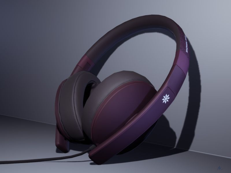 Headphones - Snowflake