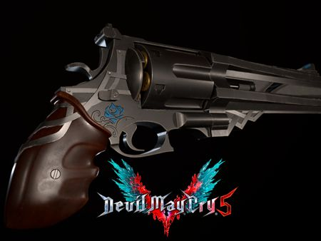 DMC V Nero's Blue Rose Fanart