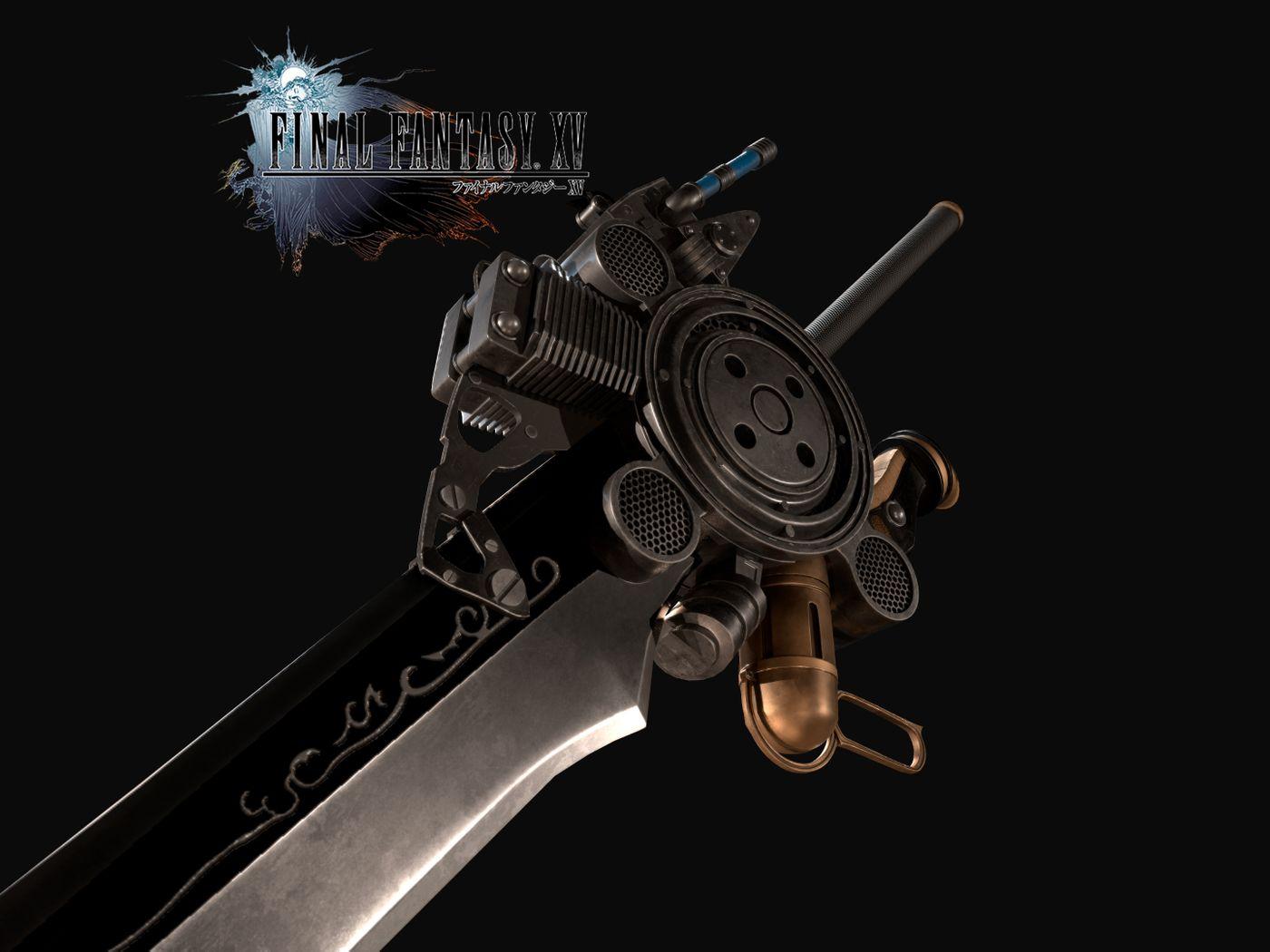 FF XV Engine Sword Fanart
