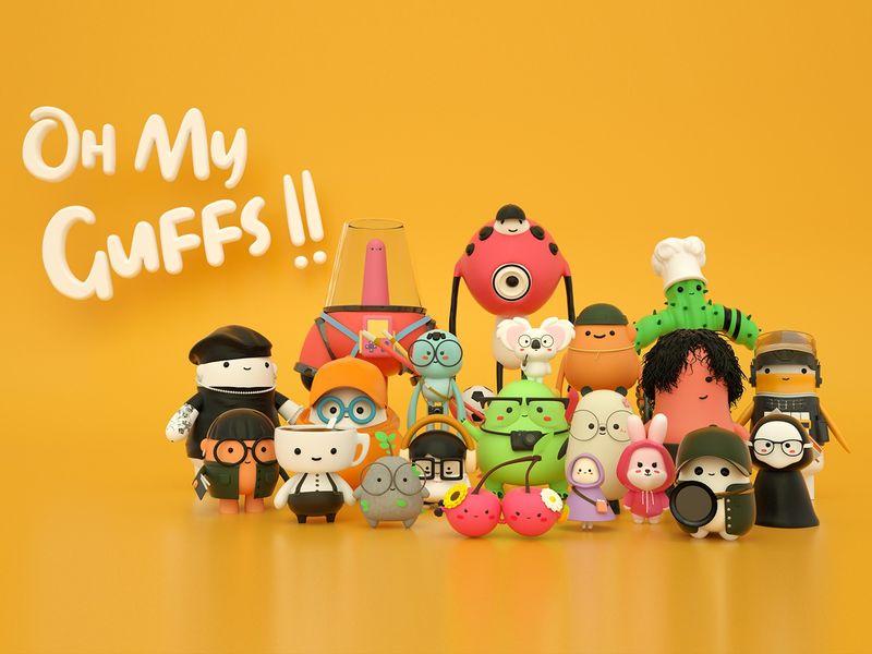 Oh My Guffs Virtual Exhibition