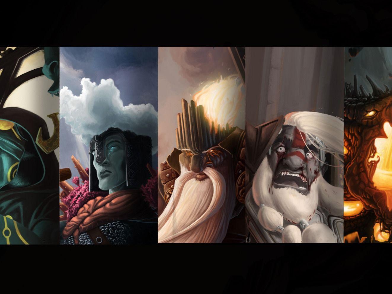Tolkien's Silmarillion - Illustration & Character Design Project