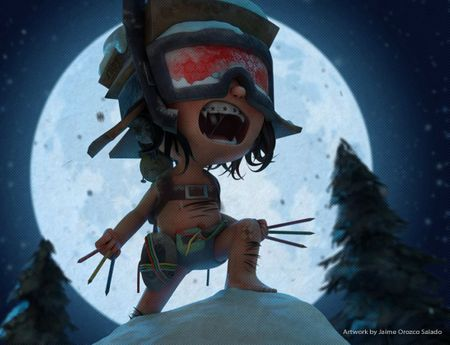 Animation Challenge - Crazy in Quarantine