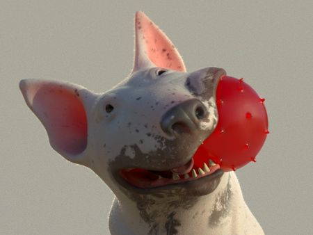 Bull Terrier (Year of the Dog)