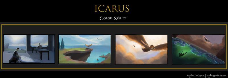 Icarus Color Script