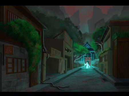 Haunted Rural Village