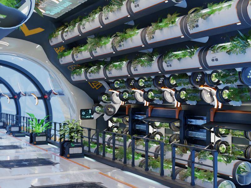 Future greenhouse | Farming station