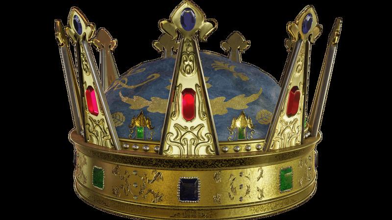 King Arthur crown