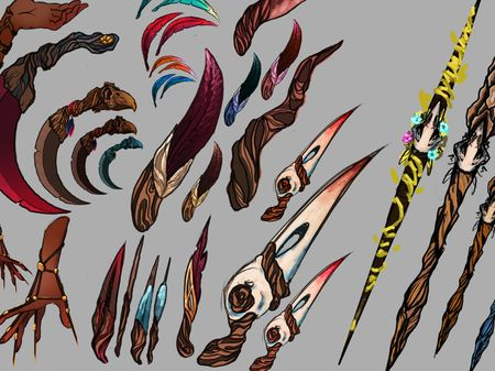 ~Flight~ Weapon/Prop Visual Development