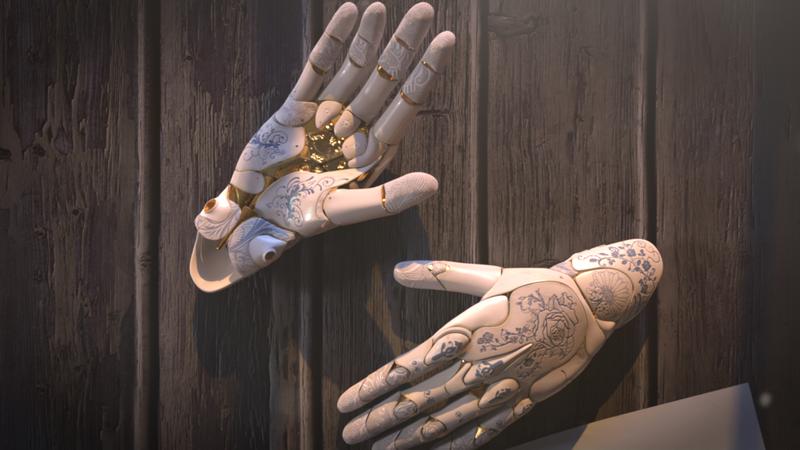 Alita's Hand