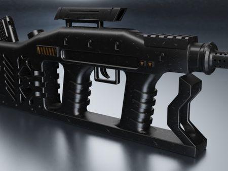 Weapon Gun (Concept Design)