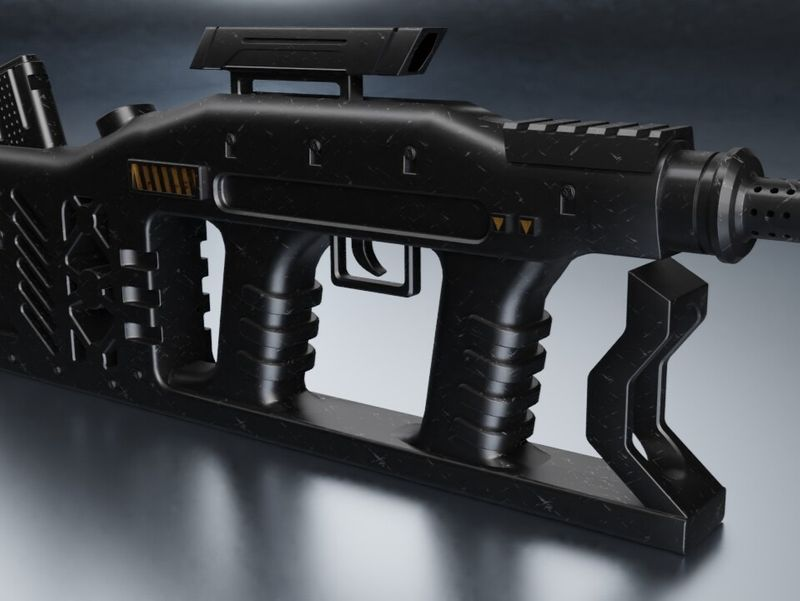 Weapon Gun (Concept Design)