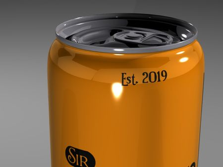Sir Maestro Soda can