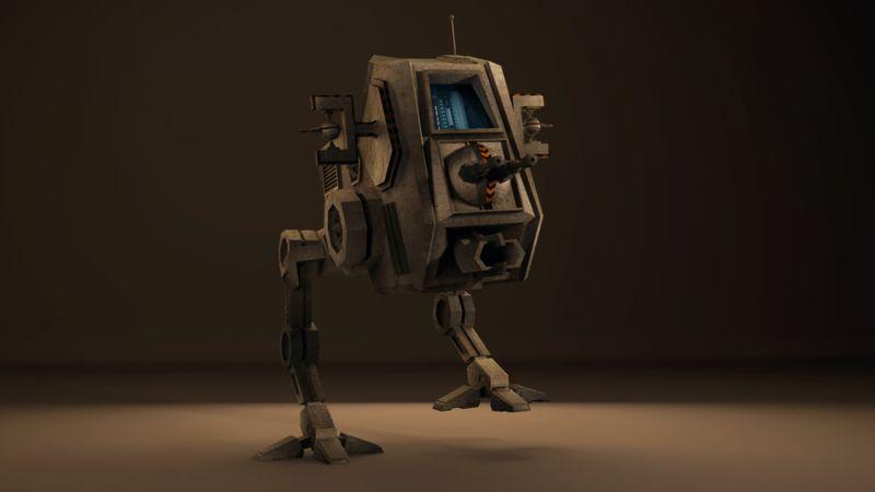 Walker | 3D Maya