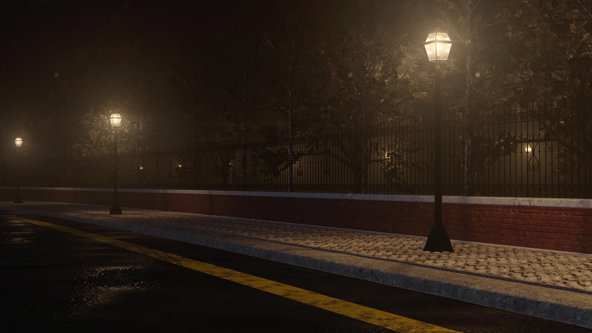 Night Street Breakdown | Maya Arnold Render | The Rookies