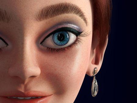 Anastasia - 3D Fan art