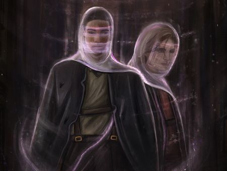 Luke and Axel- Character design