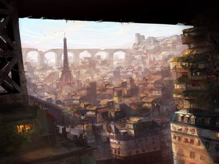 Slums of Paris