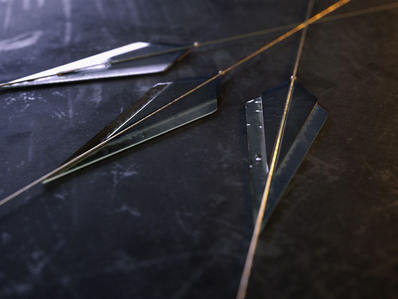 Stylized Arrowheads Logo