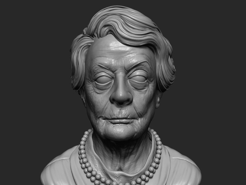 Maggie Smith study
