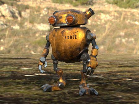 Substance Texturing Challenge-Eddie Robot
