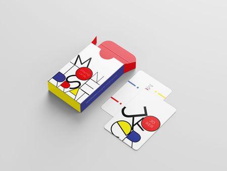Montserrat: Typographic Playing Cards