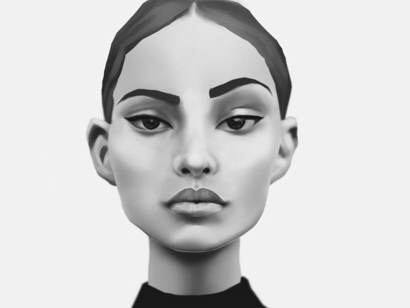 Portrait illustration