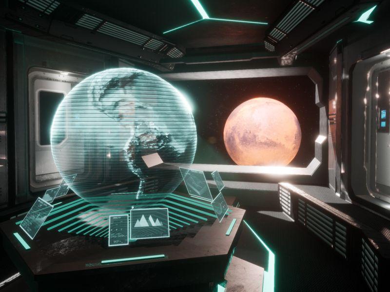 SciFi Game Environment Demo Reel