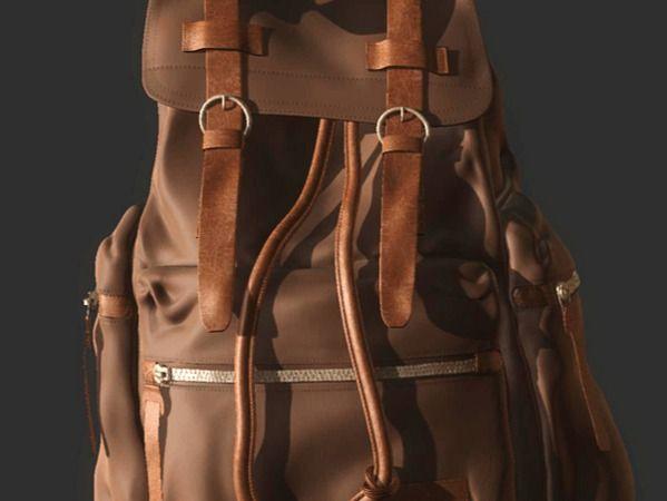 Backpack sculpt