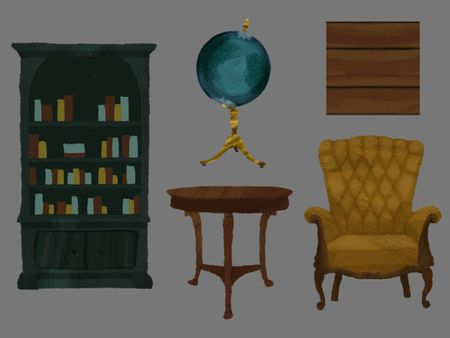 2D Library Props