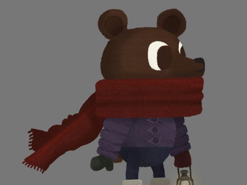 Winter Woods Short Animation