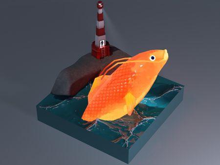 Delirium of the Sea 3D Diorama