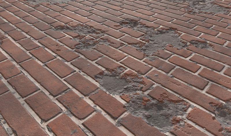 Damaged Brick