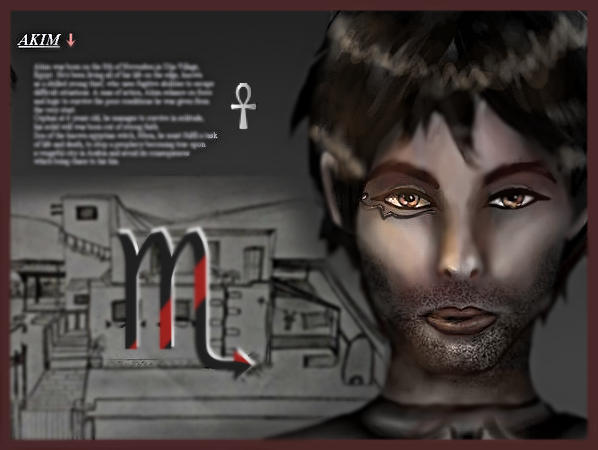 Akim Character Design