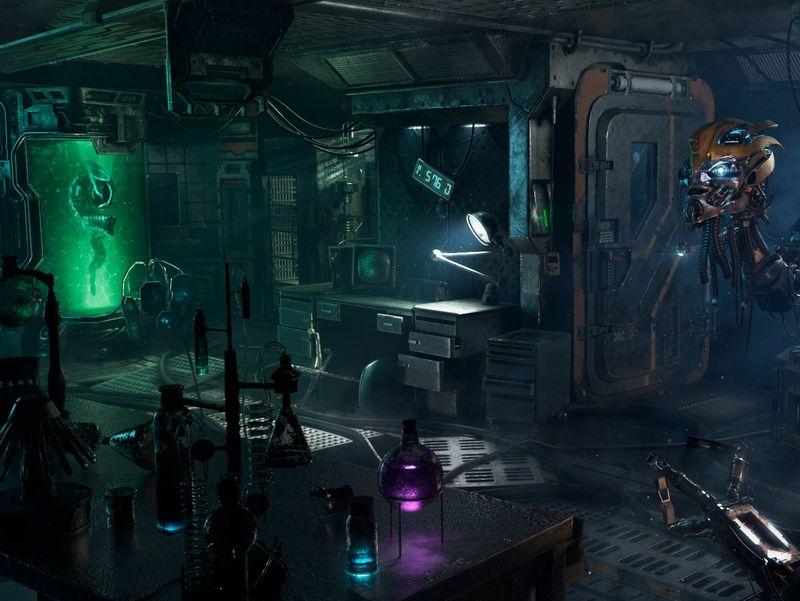 Abandoned SciFi Laboratory