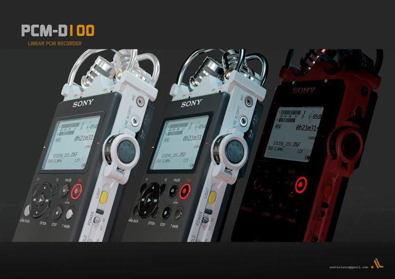 PCM-D 100