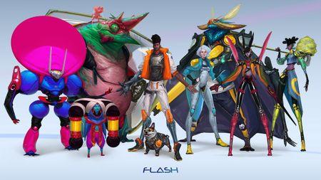 Flash Gordon Modeling Contest