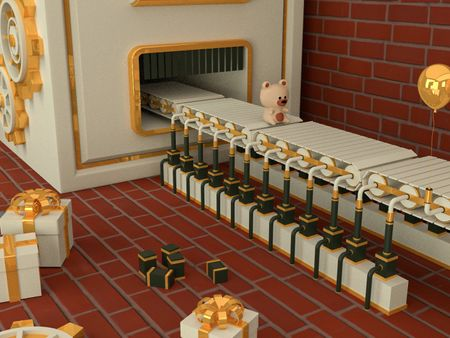 Merry Christmas 3D Motion Graphic