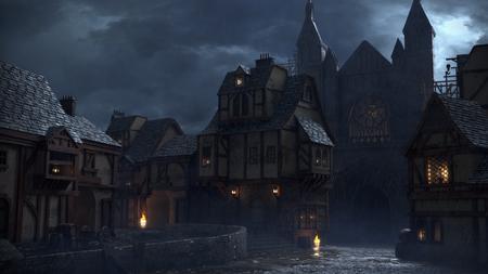 Dark Ages Village