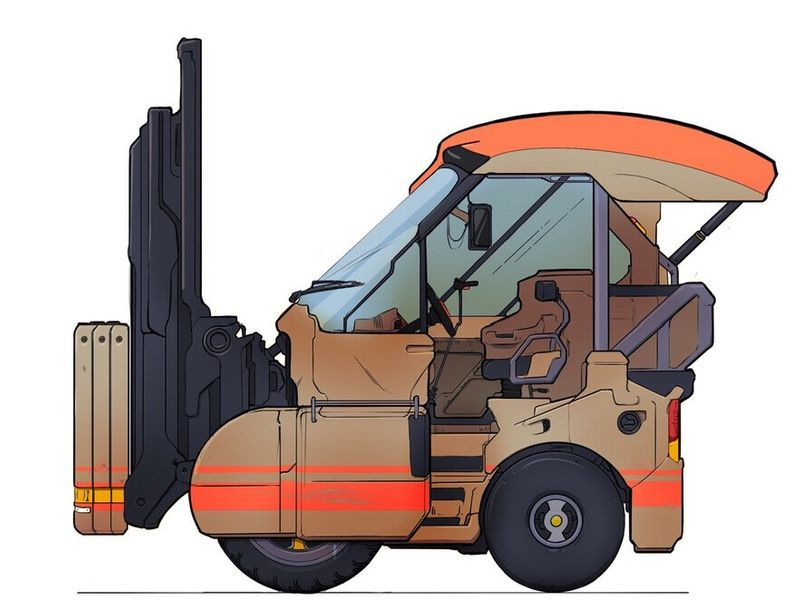 Future Forklift Concept