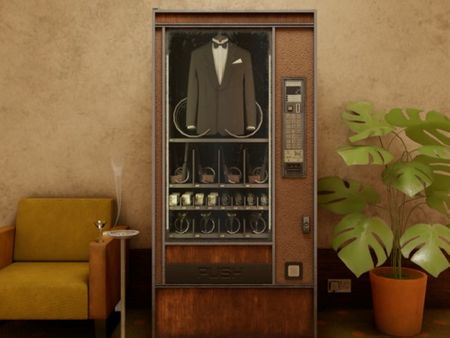 Top Secret Vending Machine