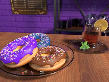 Delicious Donuts with Blender