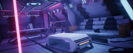 Space lounge room