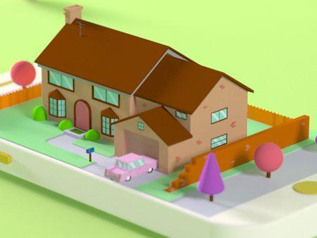 The Simpson's House