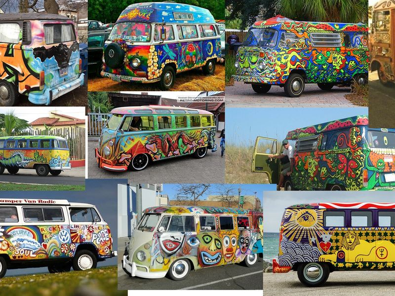 hippie van